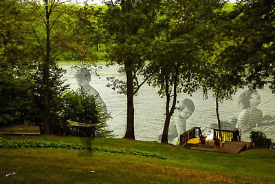 Water Play Photograph - Lakeside Dreams by Madeline Ellis
