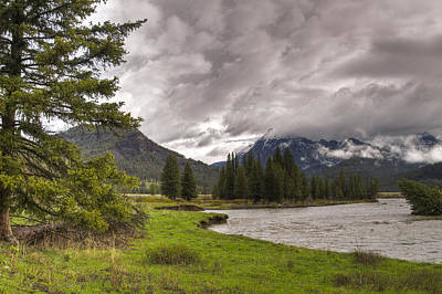 Photograph - Lamar Valley by Jack R Perry