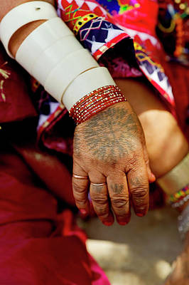 Gypsy Photograph - Lambani Gypsy Tribals, Forest Dwellers by Jaina Mishra