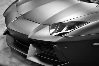Photograph - Lamborghini Lp700 Aventador  by Ronda Broatch