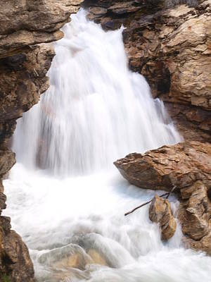 Photograph - Lamoille Falls by Jenessa Rahn