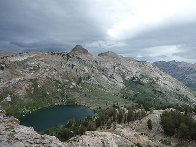 Photograph - Lamoille Lake by Jenessa Rahn