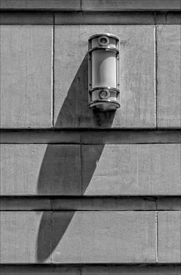 Lamp And Shadow Art Print by Robert Ullmann