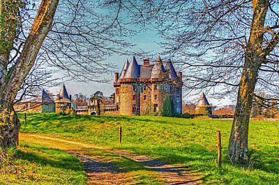 Photograph - Chateau De Landale by Elf Evans