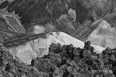 Photograph - Landmannalaugar Iceland 4 by Rudi Prott