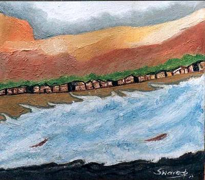 Painting - Landscape-4 by Anand Swaroop Manchiraju