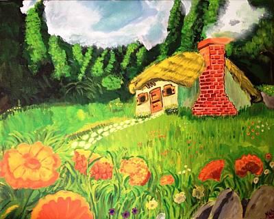 Neha Shah Painting - Landscape by Neha  Shah