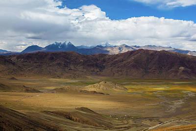 Photograph - Landscape Of Tibetan Plateau by Wulingyun