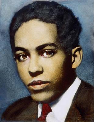 Langston Hughes (1902-1967) Art Print by Granger