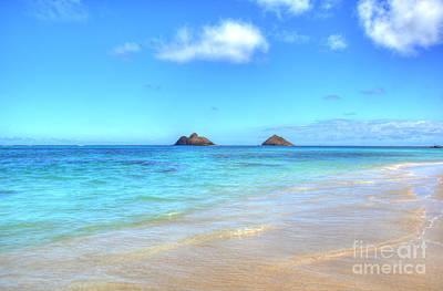 Lanikai Beach Oahu Hawaii Art Print by Kelly Wade