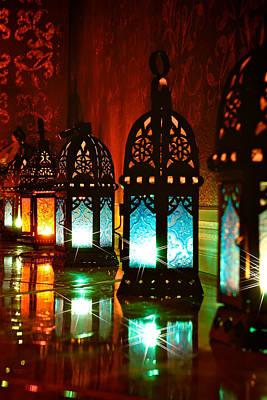 Lantern Photograph - Lanterns by Gina Mallory