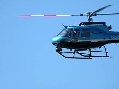 Photograph - Lapd Helicopter by Jeff Lowe