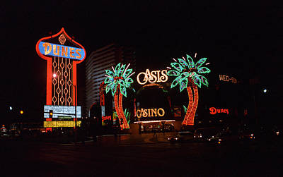 Las Vegas 1983 Art Print