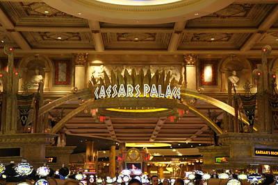 Las Vegas - Caesars Palace - 12128 Art Print