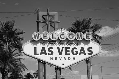 Glitter Gulch Photograph - Las Vegas by Frank Romeo