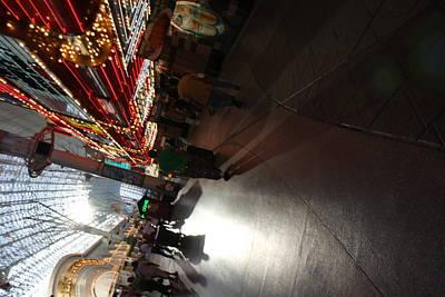Las Vegas - Fremont Street Experience - 121210 Art Print by DC Photographer
