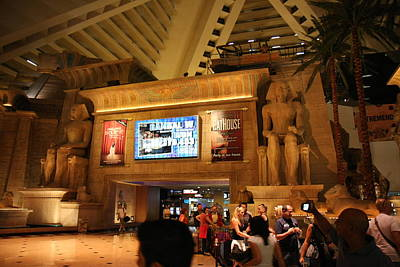 Las Vegas - Luxor Casino - 12121 Art Print by DC Photographer