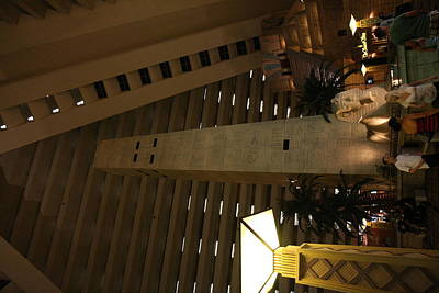 Las Vegas - Luxor Casino - 12124 Art Print by DC Photographer