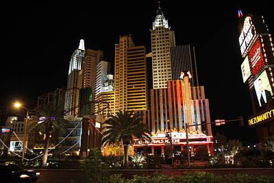 States Photograph - Las Vegas - New York New York Casino - 12121 by DC Photographer