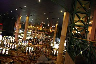 Las Vegas - New York New York Casino - 12126 Art Print by DC Photographer