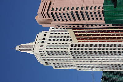 Las Vegas - New York New York Casino - 12127 Print by DC Photographer