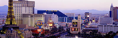 Las Vegas Nv Usa Art Print by Panoramic Images