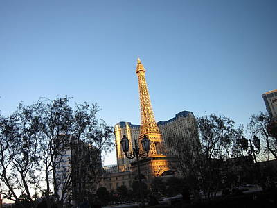 Las Vegas - Paris Casino - 12122 Art Print