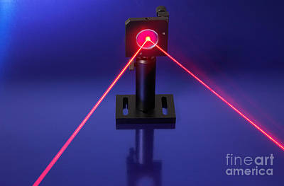 Laser Research Print by GIPhotostock