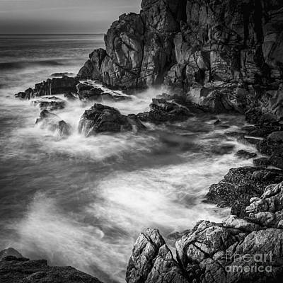 Photograph - Last Lights At Penencia Point Galicia Spain by Pablo Avanzini