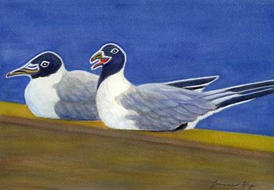 Painting - Laughing Gulls by Jeanne Kay Juhos