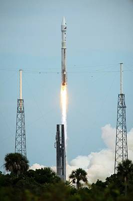 Rocket Science Photograph - Launch Of Maven Mission To Mars by Nasa/bill Ingalls