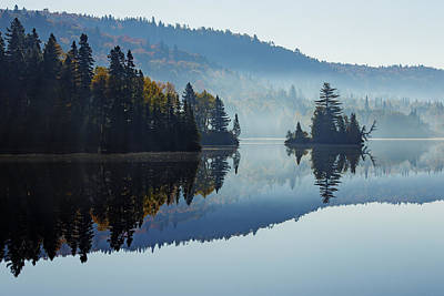 Laurentians Photograph - Laurentides by Mircea Costina Photography