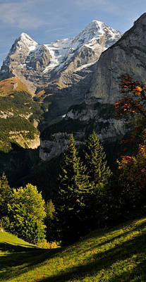 Lauterbrunnen Wall Art - Photograph - Lauterbrunnen Valley With Mt Eiger by Panoramic Images