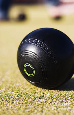 Photograph - Lawn Bowls Ball by Jorgo Photography - Wall Art Gallery
