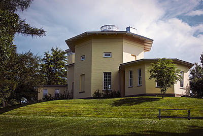Photograph - Lawrence Observatory At Amherst College by Phil Cardamone