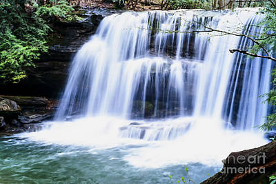 Leatherwood Falls Art Print by Thomas R Fletcher