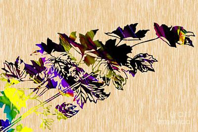 Leaves Art Art Print