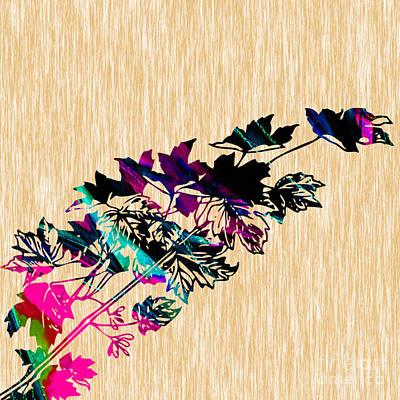 Leaves Art Print by Marvin Blaine