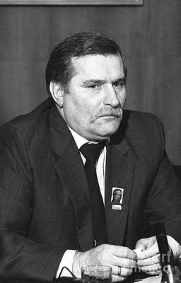 Photograph - Lech Walesa by David Fowler