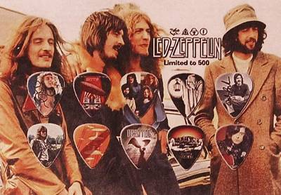 English Rock Groups Photograph - Led Zeppelin Art by Donna Wilson
