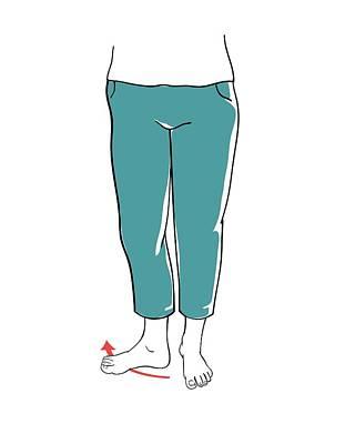 Leg Exercises Art Print by Jeanette Engqvist