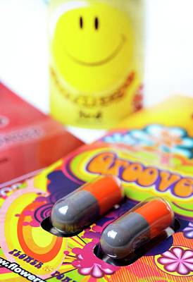 Altering Photograph - Legal Highs by Cordelia Molloy