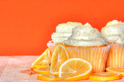 Photograph - Lemon Cupcakes by Sophie Vigneault