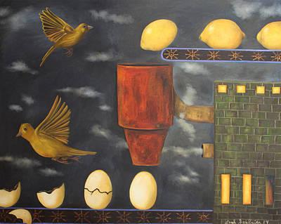 Change Painting - Lemon Dream by Leah Saulnier The Painting Maniac