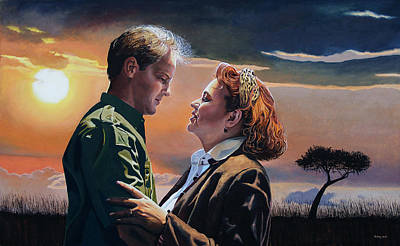 Painting - Leon And Leontine by Jo King