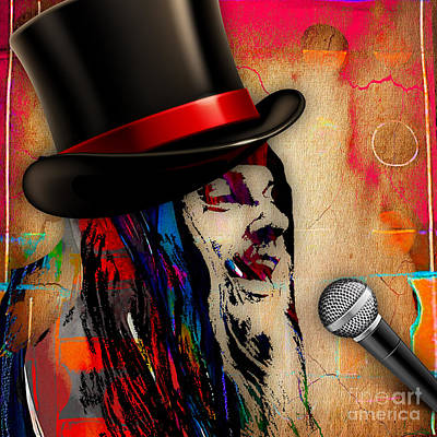 Musician Mixed Media - Leon Russell Collection by Marvin Blaine
