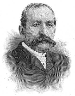 Leonard Jerome (1817-1891) Art Print by Granger