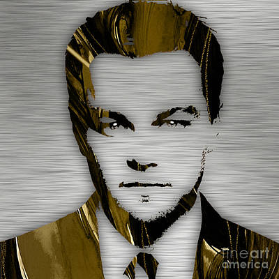 Actors Mixed Media - Leonardo Dicaprio Collection by Marvin Blaine