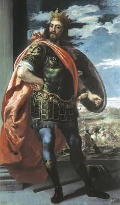 Leonardo, Jos� 1605-1656. Alaric I Art Print by Everett