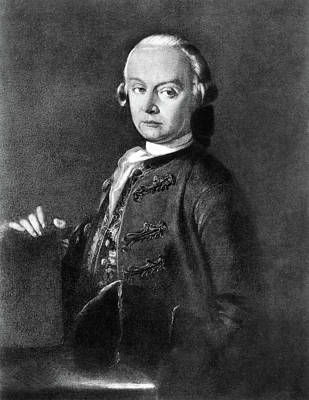 Painting - Leopold Mozart (1719-1787) by Granger